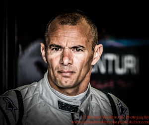 4 Stephane Sarrazin (FRA) Venturi Formula E Team Formula E Test Day Donington 17th August 2015 Raw Photo: - Richard Washbrooke Photography