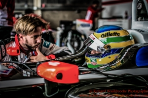21 Bruno Senna (BRA) Mahindra Racing Formula E Team Formula E Test Day Donington 17th August 2015 Raw Photo: - Richard Washbrooke Photography