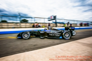 88 Oliver Turvey (GBR) NEXTEV TCR Formula E Team Formula E Test Day Donington 17th August 2015 Raw Photo: - Richard Washbrooke Photography