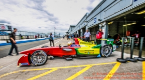 66 Daniel Abt (DEU) ABT Schaeffler Audi Sport Formula E Test Day Donington 17th August 2015 Raw Photo: - Richard Washbrooke Photography