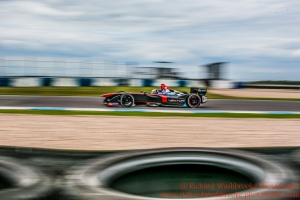 12 Jacques Vileneuve (CAN) Venturi Formula E Team Formula E Test Day Donington 17th August 2015 Raw Photo: - Richard Washbrooke Photography