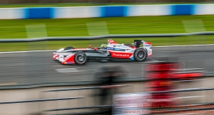 21 Bruno Senna (BRA) Mahindra Racing Formula E team Formula E Test Day Donington 17th August 2015 Raw Photo: - Richard Washbrooke Photography