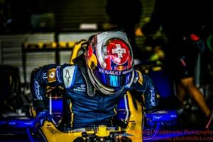 9 Sebastien Buemi CHE) Renault e.Dams Formula E - Donington Test 24th August 2015 Photo: - Richard Washbrooke Photography