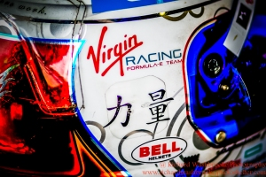 2 Sam Bird (GBR) DS Virgin Racing Formula E - Donington Test 24th August 2015 Photo: - Richard Washbrooke Photography