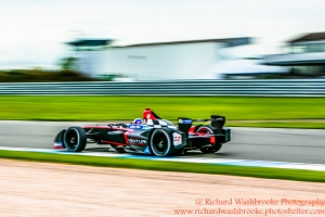 12 Jacques Villeneuve (CAN) Venturi Racing Formula E - Donington Test 24th August 2015 Photo: - Richard Washbrooke Photography