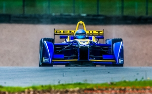 8 Nicolas Prost (FRA) Renault e.Dams Formula E - Donington Test 24th August 2015 Photo: - Richard Washbrooke Photography