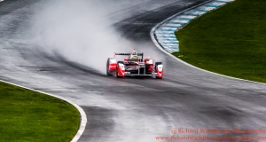 21 Bruno Senna (BRA) Mahindra Racing Formula E - Donington Test 24th August 2015 Photo: - Richard Washbrooke Photography