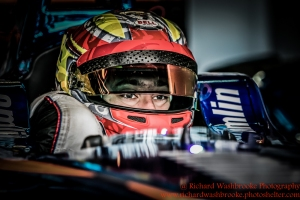 27 Robin Frijns (NED) Andretti Racing Formula E - Donington Test 25th August 2015 Photo: - Richard Washbrooke Photography