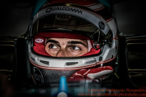1 Nelson Piquet (BRA) NEXTEV TCR Formula E - Donington Test 25th August 2015 Photo: - Richard Washbrooke Photography