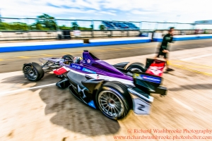 Jean Eric Vergne (FRA) DS Virgin Racing Formula E - Donington Test 25th August 2015 Photo: - Richard Washbrooke Photography