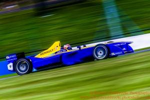 9 Sebastien Buemi (CHE) Renault e.Dams Formula E - Donington Test 25th August 2015 Photo: - Richard Washbrooke Photography