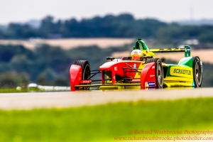 66 Daniel Abt (DEU) ABT Schaeffler Audi Sport Formula E - Donington Test 25th August 2015 Photo: - Richard Washbrooke Photography