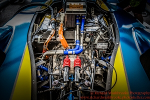 Renault e.Dams garage FormulaE Battersea, London Round 11 2nd Practice Photo: - Richard Washbrooke Photography