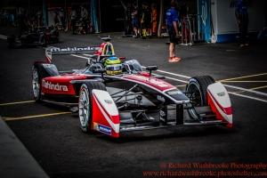 21 Bruno Senna (BRA) Mahindra Racing Formula E Team FormulaE Battersea, London Round 11 2nd Practice Photo: - Richard Washbrooke Photography
