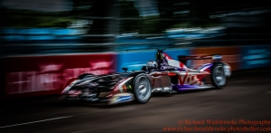 2 Sam Bird DS Virgin Racing Formula E Team E Team FormulaE Battersea, London Round 11 2nd Practice Photo: - Richard Washbrooke Photography