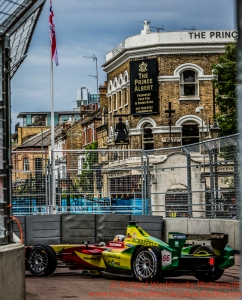 11 Lucas di Grassi (BRA) ABT Schaeffler Audi Sport FormulaE Battersea, London Round 11 2nd Practice Photo: - Richard Washbrooke Photography