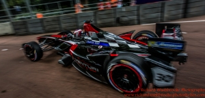 30 Stephane Sarrazin (FRA) Venturi Formula E TeamFormulaE Battersea, London Round 11 2nd Practice Photo: - Richard Washbrooke Photography