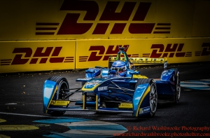 8 Nicolas Prost (FRA) Renault e.Dams FormulaE Battersea, London Round 11 2nd Practice Photo: - Richard Washbrooke Photography