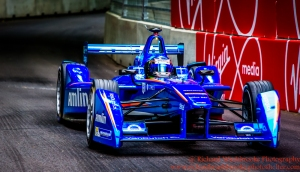 55 Sakon Yamamoto (JPN) Amlin Aguri FormulaE Battersea, London Round 11 Qualifying Photo: - Richard Washbrooke Photography