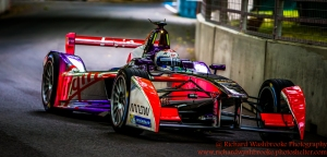 2 Sam Bird (GBR) Virgin Racing Formula E Team FormulaE Battersea, London Round 11 Qualifying Photo: - Richard Washbrooke Photography