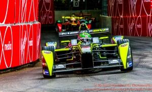 99 Nelson Piquet JR (BRA) NEXTEV TCR Formula E Team FormulaE Battersea, London Round 11 Qualifying Photo: - Richard Washbrooke Photography