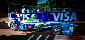 10 Jarno Trulli (ITA) Trulli Racing FormulaE Battersea, London Round 11 Race Photo: - Richard Washbrooke Photography