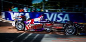 2 Sam Bird (GBR) Virgin Racing FormulaE Battersea, London Round 11 Race Photo: - Richard Washbrooke Photography
