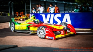 11 Lucas di Grassi (BRA) Audi Sport ABT FormulaE Battersea, London Round 11 Race Photo: - Richard Washbrooke Photography