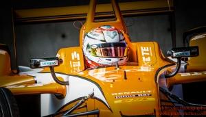 27 Jean-Eric Vergne (FRA) Andretti Autosport FormulaE Battersea, London Round 11 Race Photo: - Richard Washbrooke Photography