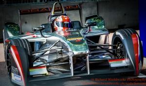 6 Loic Duval (FRA) Dragon Racing FormulaE Battersea, London Round 11 Race Photo: - Richard Washbrooke Photography