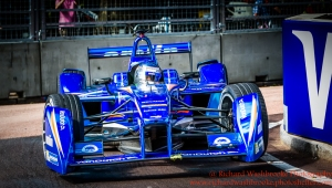 55 Sakon Yamamoto (JPN) Amlin Aguri FormulaE Battersea, London Round 11 Race Photo: - Richard Washbrooke Photography