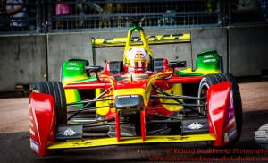 66 Daniel Abt (DEU) Audi Sport ABT FormulaE Battersea, London Round 11 Race Photo: - Richard Washbrooke Photography