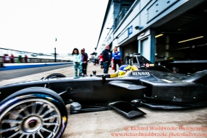 FormulaE Test Day Donington Park 11th August 2015 Photo: - Richard Washbrooke Photography