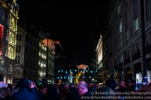 Les Lumineoles, Porte par le vent, Lumiere London 16th January 2016 Images taken by Richard Washbrooke Photography