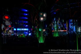 Garden of Light, TILT, Leicester Square, Lumiere London 16th January 2016 Images taken by Richard Washbrooke Photography
