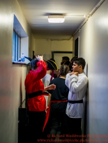 Harpenden Gang Show Performance Back Stage 9th January 2016 Images taken by Richard Washbrooke