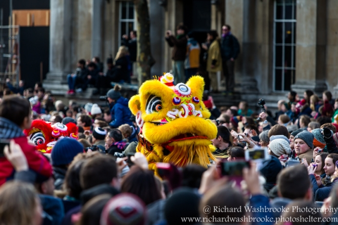 Xinhua - Chinese New Year 2016  London