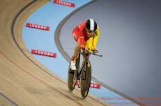 Women's Individual Pursuit Qualifying Gloria Rodriguez Sanchez ESP 2nd March 2016