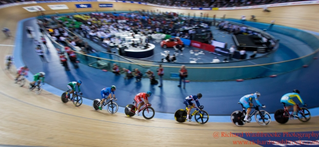 Men's Scratch Race Final 2nd March 2016