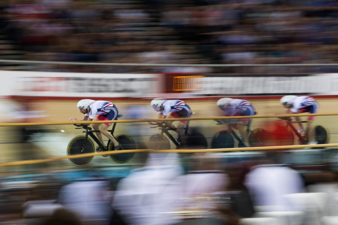 2016 Track Cycling 3rd March 2015