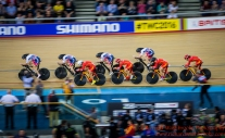 Women's Team Pursuit China and Great Briatin 4th March 2016
