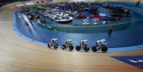 Women's Team Pursuit Finals 5th / 6th Team Australia 4th March 2016