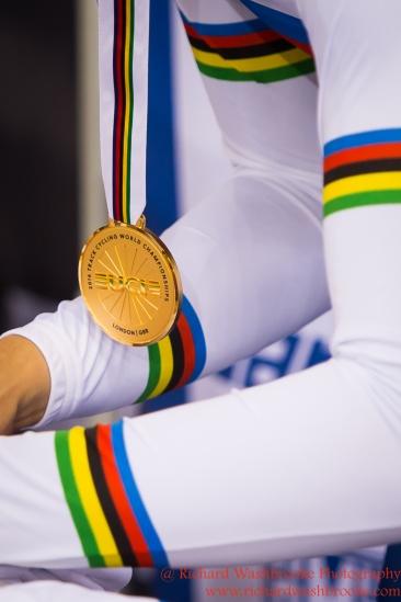 Men's Individual Pursuit Final Gold Medal Flippo Ganna ITA 4th March 2016