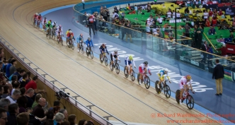 Women's Points Race Final 5th March 2016