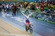 Men's Sprint Final Jason Kenny GBR wins the gold medal 5th March 2016