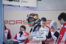 Brendon Hartley (NZL) driving the #1 LMP1 Porsche Team (DEU) Porsche 919 Hybrid FIA WEC 6H Silverstone - Friday 15th April 2016