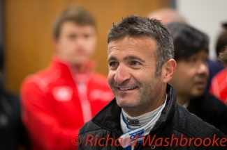 Nicolas Minassian (FRA) drivers briefing he will be driving the LMP2 SMP Racing BR01 - Nissan FIA WEC 6H Silverstone - Friday 15th April 2016
