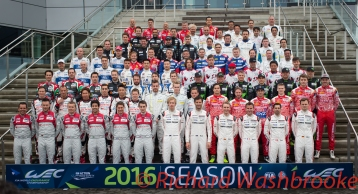Drivers Collective Photo Shooting FIA WEC 6H Silverstone - Friday 15th April 2016