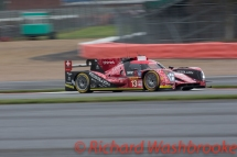 Matheo Tuscher (CHE) / Dominik Kraihamer (AUT) / Alexandre Imperatori )CHE) driving the LMP1 Rebellion Racing Rebellion R-One - AER Free Practice 1 FIA WEC 6H Silverstone - Friday 15th April 2016