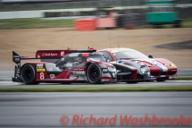 Lucas Di Grassi (BRA) / Loic Duval (FRA) / Oliver Jarvis (GBR) driving the LMP1 Audi Sport Team Joest Audi R18 Hybrid Free Practice 1 FIA WEC 6H Silverstone - Friday 15th April 2016